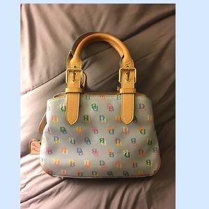 Authentic Signature Dooney and Bourke mini satchel